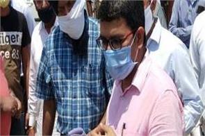 punsap md and nodal officer rambir singh visits grain mandi