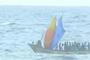 lockdown fishermen reach odisha from chennai