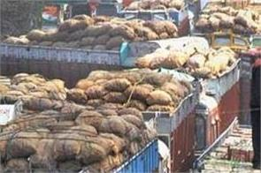 lockdown haryana stopped supply of vegetables fruits to delhi