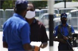 covid 19  all security personnel in sri lanka canceled their leave