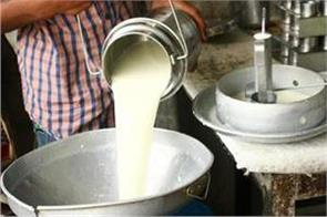 milk sales 9  due to lockdown