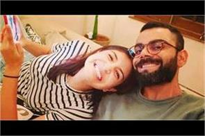during the   lockdown   virat shared a photo with anushka