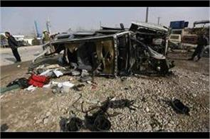 truck bomb kills 5 civilians in afghanistan