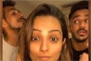 the video made by chahal with the actress said this