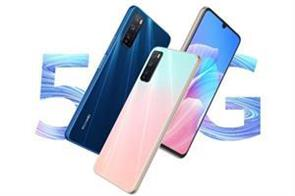 huawei launches enjoy z 5g smartphone with 4 000 mah battery