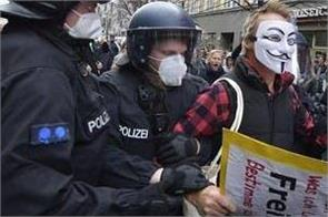 protester arrest in germany