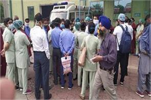 doctors protest in ludhiana