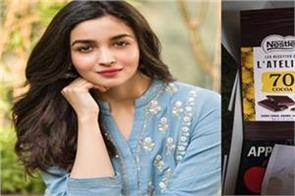 doctor thanks alia bhatt for sending chocolates and snacks to health workers