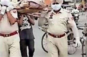 amritsar unclaimed body cremation police personnel