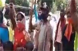 gurdaspur  migrant workers  dc office  dharna