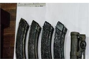 jammu and kashmir let three terrorists arrested weapons recovered