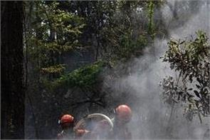 1 300 firefighters battled wildfires in china