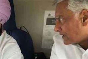 cm and jakhar announce payment of train fare