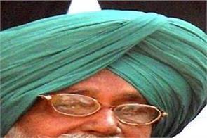 gurdas singh badal died father finance minister manpreet singh badal