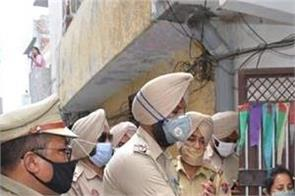 lockdown  police  birthday  cake  amritsar