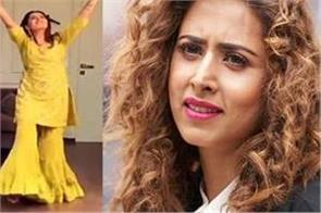 sargun mehta dance video instagram