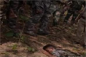 jharkhand naxals death area commander arrested