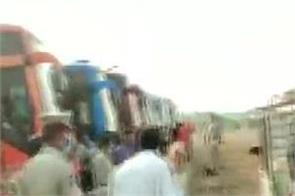 migrant fishermen in gujarat returned andhra pradesh