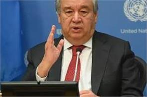 guterres ceasefire appeal is global un spokesman