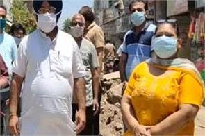 sewerage repair work on lahiri shah mandir road suspended