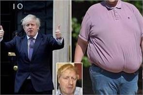 johnson plans war on fat as obesity linked to covid 19