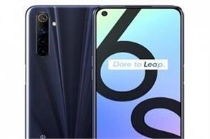 realme 6s smartphone launched with four rear cameras