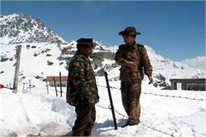chinese troops obstruct indian troops   duty  external affairs ministry