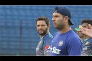 this statement was made by yuvraj on afridi  s controversial remarks