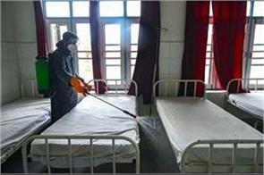 300 bed covid health center set up in srinagar