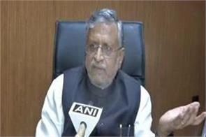 bihar paid rs 1 crore for bringing back students stranded in kota  sushil modi