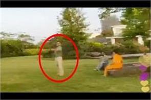 dhoni hit his wife  s ball while having fun  sakshi said
