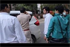 doctor suicide case  aap mla prakash jarwal and kapil nagar arrested