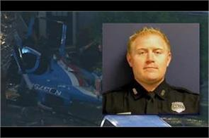 houston police officer killed  one injured in plane crash