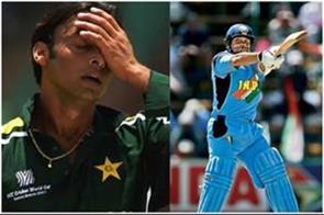 wc 2003 sachin s wicket taking is sad shoaib