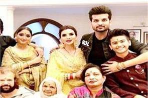 navraj hans with family