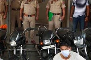 2 boys arrested motorcycles