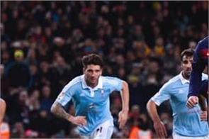 celta vigo held barcelona to a draw