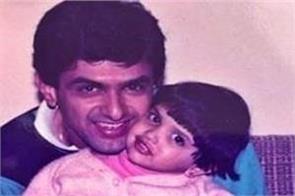 deepika padukone shares childhood pic on his father birthday