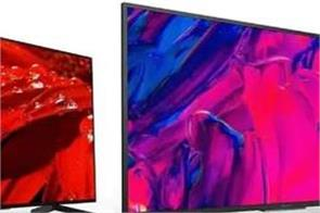 sony launched two smart tvs in india