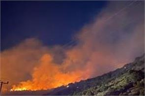 wildfires erupt as california sees record heat