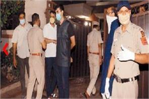 firing at liquor businessman  s house