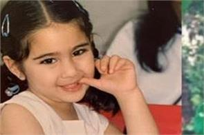 sara ali khan shares her throwback thursday childhood cute picture
