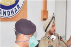 police commissioner  gurpreet singh bhullar  meeting