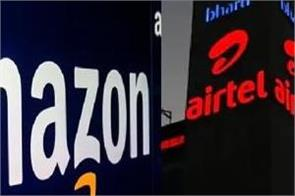 airtel says no such proposal to deal with amazon