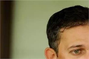 if player does not suffer from corona  use of saliva should be exempted  agarkar