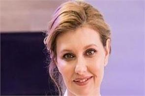 ukraine president  s wife hospitalized with virus