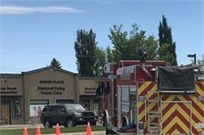 emergency alert in southern alberta town