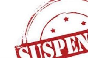 prisoner absconding  4 asi suspended