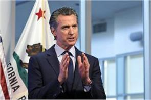 wear a mask and avoid gathering california governor