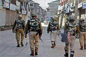 terrorist planning an attack after completion of one year of article 370